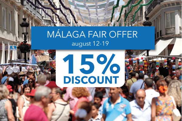 Feria de Málaga 2017 offer